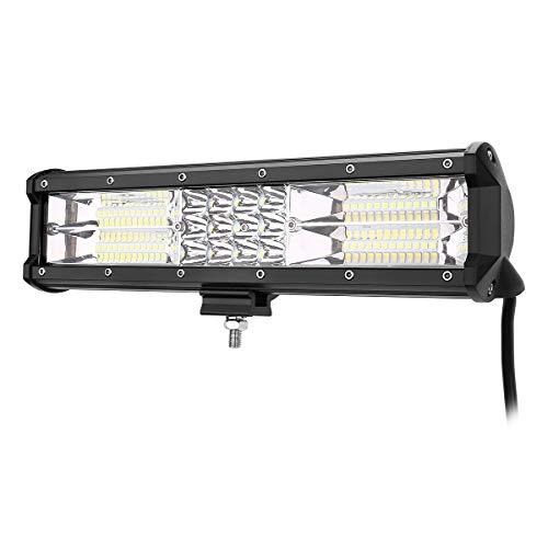 LE LED Zusatzscheinwerfer 12V 180W 12000lm, LED Arbeitsscheinwerfer 12 Zoll IP67 Wasserdicht, LED Auto Scheinwerfer Combo Licht mit Flutlicht und Scheinwerfer