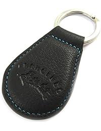 Francinel [L8701] - Porte-clés cuir 'Troubadour' noir violet
