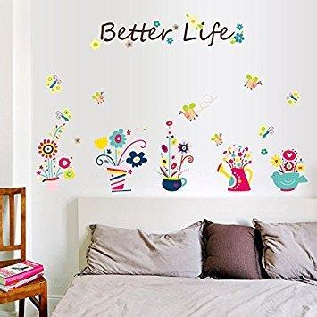 Cartoon Wand Aufkleber für Kinder Zimmer Kinderzimmer Kindergarten vinyl Abnehmbare Wandaufkleber...