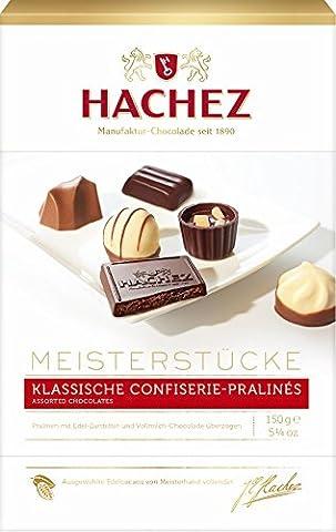 Hachez Meisterstücke Mischung, 1er Pack (1 x 150 g)