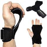 Netrox Copra Versa Power Crossfit Powerlifting drücken ziehen Gripps Straps Grips Fitness Sport Training Handschuhe Trainingshandschuhe Sporthandschuhe Fitnesshandschuhe (L)