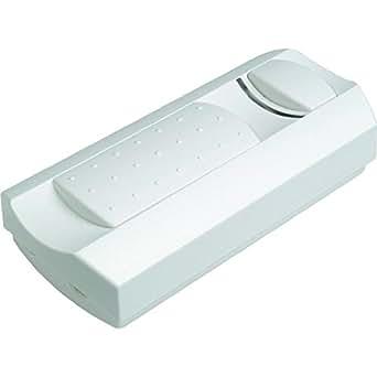 Variateur fil 500W, régulateur et interrupteur blanc