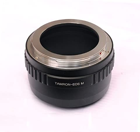 Fotasy Tamron Adaptall ii Lens to Canon EOS M EF-M Mirrorless Camera Adapter, fits Canon M1, M2, M3 M10 Mirrorless