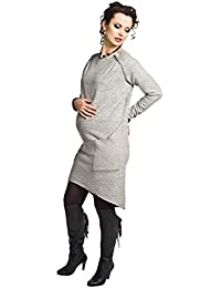Maternity Jumper Dress - Grey