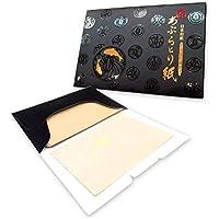 Papel absorbente de aceite facial - Cáñamo Suave, Made in Japan - oil control blotting paper - 8.5cm x 6.0cm, pack de 100 hojas (X1 pack)