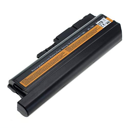 OTB 8003140 Batterie Li-ION 6600 mAh pour IBM/Lenovo Thinkpad R60 T60 Z60m Noir
