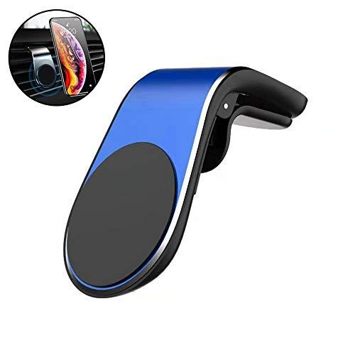HYGLPXD Handyhalter fürs Auto Magnet Handyhalterung Auto Kfz Lüftung Halterung Lüftungs & Armaturenbrett mit 5 Magnete 360° Drehbarshalter für iPhone iPad Samsung Huawei LG,Blue