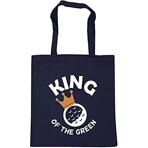 HippoWarehouse , Borsa da spiaggia  Donna - Navy Stick Flag
