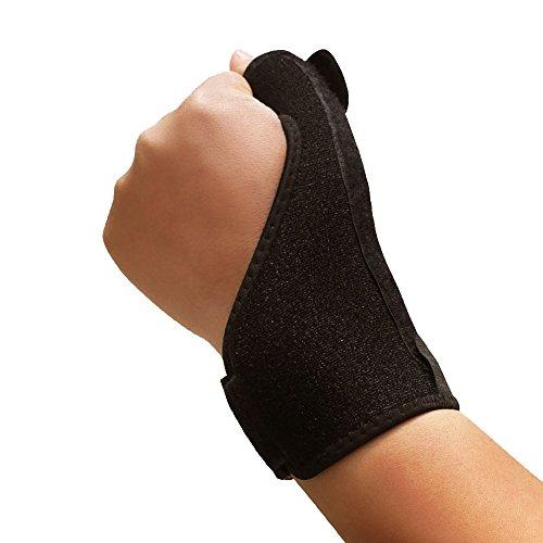 V Point Professional Daumen Binden & Atmungsaktiv Neopren Daumen und Handgelenk Support & Displayschutzfolie, Steady Unterstützung und starken Kompression für Schutz Handgelenk gewickelt & Finger