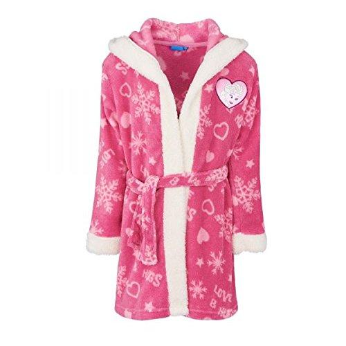 (Disney La reine des neiges Mädchen Kimono 4060, Pink Fushia, 8 Jahre)