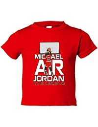 Camiseta niño Michael Air Jordan The Legend leyenda de baloncesto