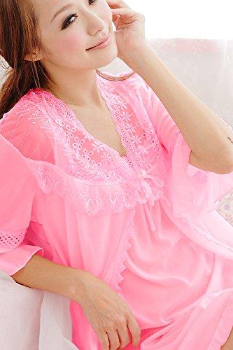 Trifolium Damen Nachthemd Einheitsgröße Rose