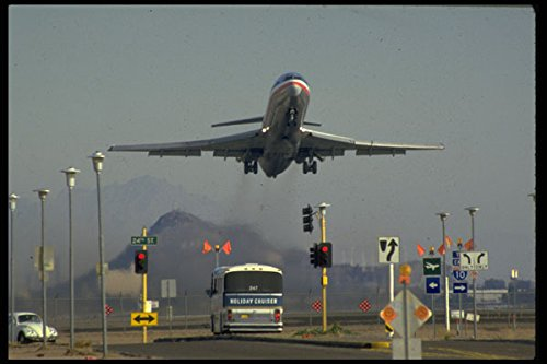 512050 Airplane Takes Off At Sky Harbor Airport Phoenix Arizona A4 Photo Poster Print 10x8