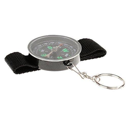 perfk Mini Handgelenk Kompass für Uhrband im Freien