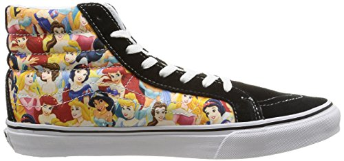 Vans - U Sk8-hi Slim Disney, Sneaker Unisex - Adulto Multicolore (disney / Multi Princess)