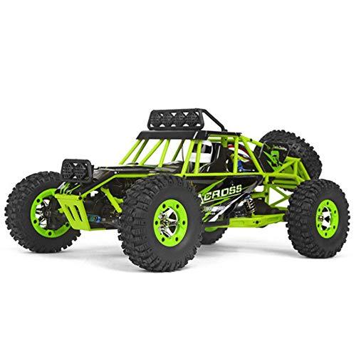 Truck Fernbedienung Auto, Rc Auto Spielzeug 4Wd 1/12 2,4G 50Km / H Hochgeschwindigkeits-LKW Funkfernbedienung Rc Buggy Off-Road RTR Überraschungsgeschenk ()