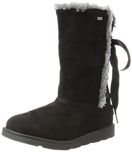Tom Tailor Mädchen 3770208 Stiefel, Schwarz (Black), 36 (Stiefel Schwarz Mädchen)