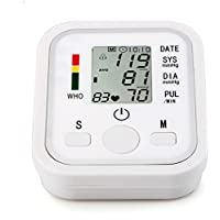 HRRH sphygmo Manómetro electrónico automático Arm Metros Pulse muñeca presión Arterial Monitor electrónica Inteligente Voice presión