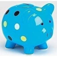 Preisvergleich für Blue Polka Dot Piggy Bank with Oink Sound Piggy Bank By Sound Investments