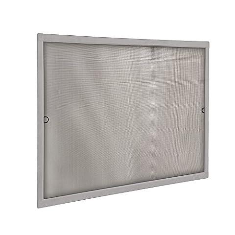 JAROLIFT Insektenschutz Spannrahmen SlimLine für Fenster 60 x 150cm, in silber