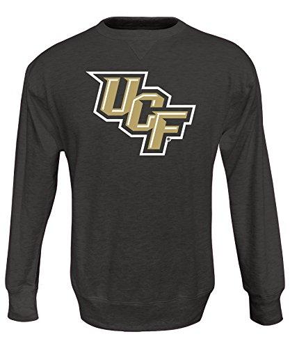 Alta Gracia NCAA Herren Crew Sweatshirt, Herren, Juan, schwarz, Medium Black Collegiate Crew Sweatshirt