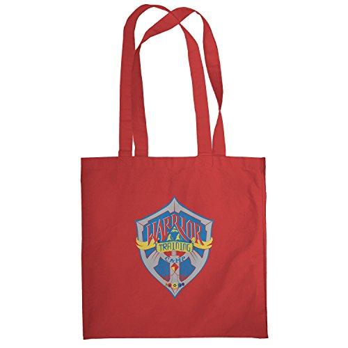 Texlab–Warrior Training Camp–sacchetto di stoffa Rot