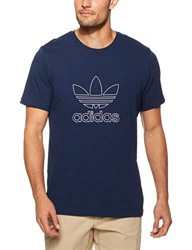 adidas Herren Outline T-Shirt, Collegiate Navy, L -