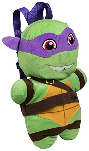 Sambro tmt-8258-2 Teenage Mutant Turtles Donatello Plüsch Rucksack