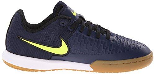 Nike - Jr Magistax Pro Ic, Scarpe da calcio Unisex – Bimbi 0-24 Blu (Azul Marino (Mid Nvy / Vlt-Gm Lght Brwn-White))
