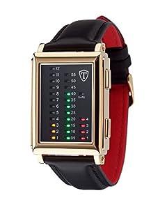 DETOMASO Spacy Timeline 1 - Reloj Forza Di Vita para hombre, color negro de DETOMASO