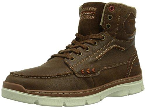 Dockers by Gerli 352610-239051 Herren Hohe Sneakers Braun (reh 051)