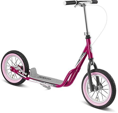 Puky 5406 R 07 L Scooter, Berry/grau
