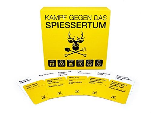 Kampf-gegen-das-Spiessertum Kampf gegen das Spiessertum – das fiese deutsche Kartenspiel für Leute mit schwarzem Humor -