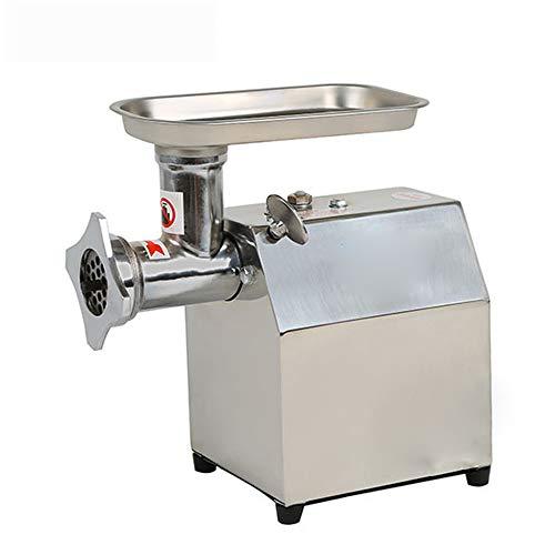 FAMLYJK Máquina de Picar Carne Grande de la picadora de Carne, máquina para Picar Carne eléctrica portátil Industrial del Acero Inoxidable