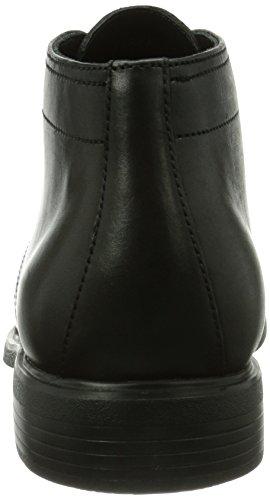 Geox U DUBLIN, Scarpa classica stringata, modello Derby Uomo Nero (Schwarz (BLACKC9999))