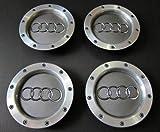 Set von 4Audi Leichtmetallrad-Badges für Radkappen, 146mm, 8D0601165K