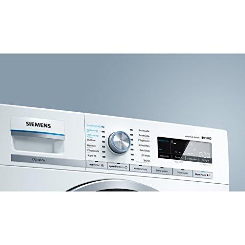 Siemens iQ700 WM14W740 Waschmaschine / 8,00 kg / A+++ / 137 kWh / 1.400 U/min / sensoFresh Programm / Nachlegefunktion / Hygiene Programm / Trommel reinigen-Programm - 4