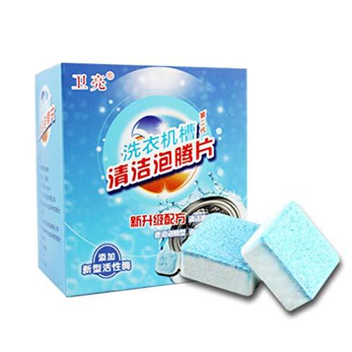 Lnlyin 12 Pcs Multifunktionale Nützliche Waschmaschine Reiniger Entkalker Langlebig Für Zuhause