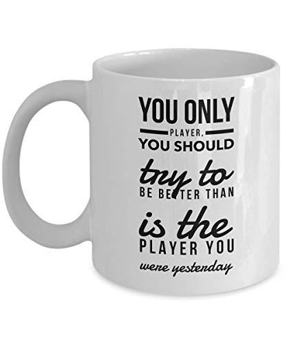 Baseball Mugs - Sports Mugs - Coffee Funny 11 Oz White Ceramic Tea Cup Mug Best Birthday Major League Baseball Team Gift Present for Family Friend Bro - Iced Maker Tea Beste