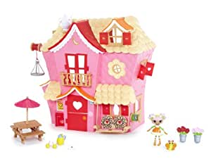 Mini Lalaloopsy Sew Sweet House Playhouse with Exclusive Character