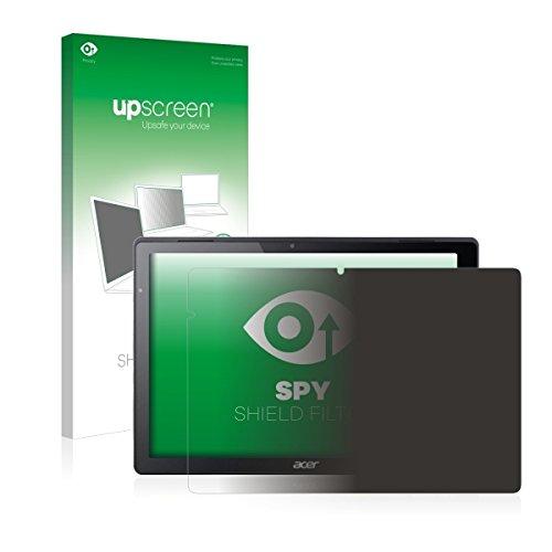 upscreen Spy Shield Filter Blickschutzfilter / Privacy für Acer Switch Alpha 12 (Sichtschutz ab 30°, Kratzschutz, abnehmbar)