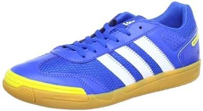 adidas Performance  spezial light, Chaussures de Fitness mixte adulte - Bleu - Blau (PRIME BLUE S12 / RUNNING WHITE FTW / VIVID YELLOW S13), 48 EU