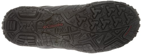 Columbia Redmond Mid, Multisport Outdoor homme Gris (charcoal/garnet Red 030)
