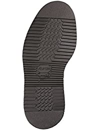 Vibram 2644 Entera suelas plano -NEGRO- 1 par para reparación zapatos Reparaciones de Suelas Patentado Gumlight combinación - bueno para zapatillas, zapatos para andar etc. - Negro, 43/44 (13 x 33 cm)