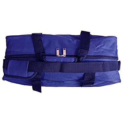 Roamlite Cabin Hand Baggage Size Holdall Bag - Exact Ryanair and Easyjet COMPLIANT Carry On Bags - Hand Luggage 50cm Travel Holdalls in 3 Colours - 50cm x 40cm x 20cm Lightweight 0.6kg - RL56M - hand-luggage