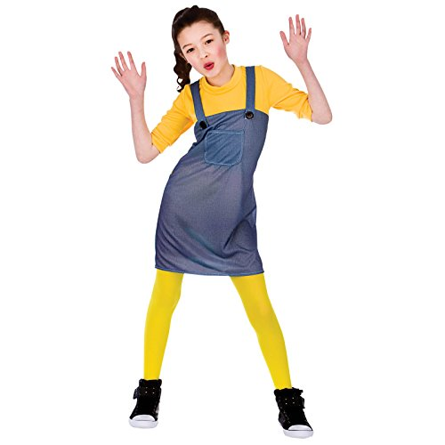 MISCHIEVOUS WORKER GIRL - KIDS COSTUME 11 - 13 YEARS