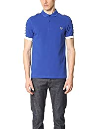 Fred Perry Taped Pique Shirt Regal, Polo