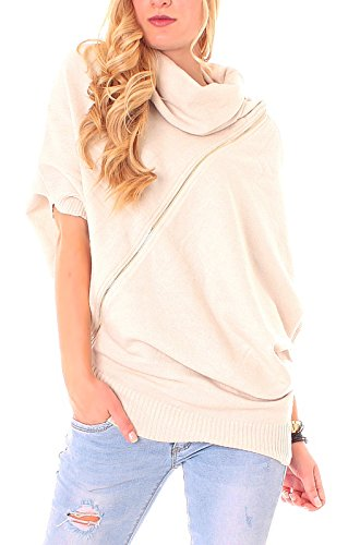 Easy Young Fashion -  Maglione  - Donna Beige