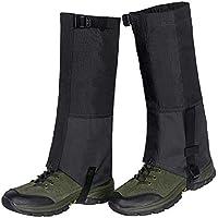 Hiking Gaiters Leg Gaiters,1 Pair Durable Waterproof Warmth Gaiters for Outdoor Walking Climbing Hunting Skiing,600D Anti-tear Oxford Fabric