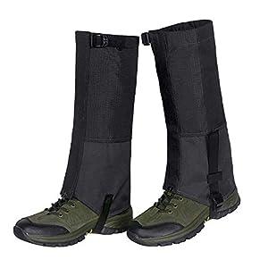 Unigear Outdoor Gamaschen,wasserdichte Atmungsaktive Bein Gamaschen für zum Wandern, Klettern und Schneewandern Jagd 1 Paar MEHRWEG